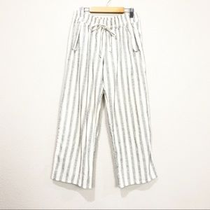 The Lady & The Sailor Striped Wide Leg Pants
